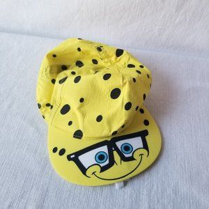 H&M Spongebob SquarePants Hat Yellow Polka Dots